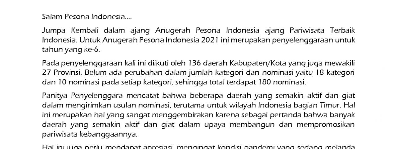 Aceh Tamiang Masuk Nominasi Anugerah Pesona Indonesia Kategori Ekowisata Terpopuler