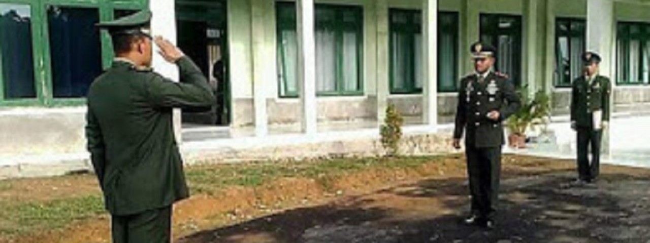 KODIM 0117/ATAM GELAR UPACARA HARI LAHIR PANCASILA KE-73